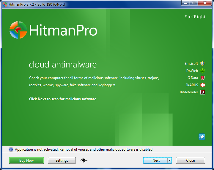 HitmanPro Review for Windows